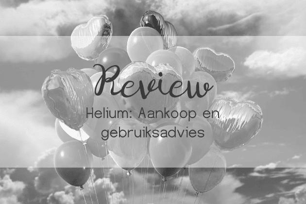 Helium ballonnen advies